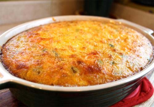 Cheese And Corn Casserole picture