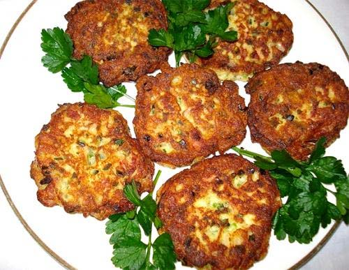 Cheese And Potato Patties picture