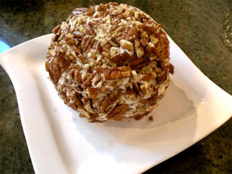 Olive Nut Cheese Ball picture