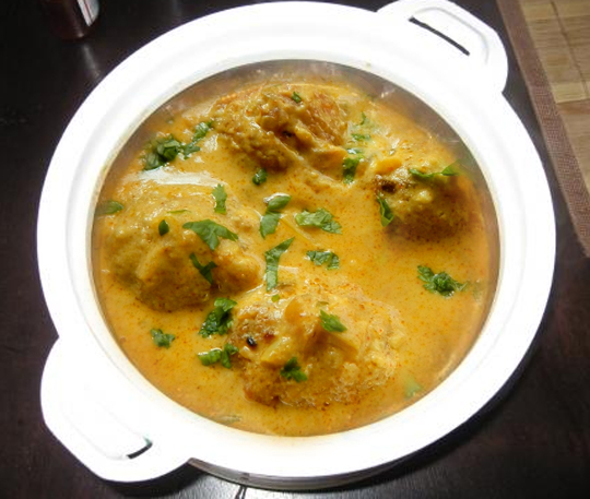 Cheese Kofta Curry picture