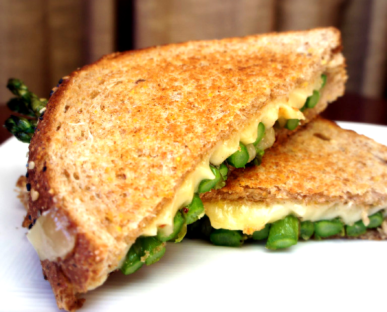 Asparagus Grilled Cheese Sandwich picture