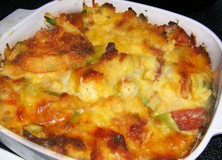 Cheese Strata picture