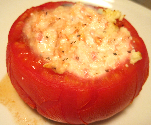Cheese Stuffed Tomatoes picture