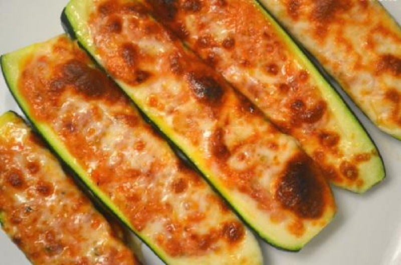 Cheese Stuffed Zucchini picture