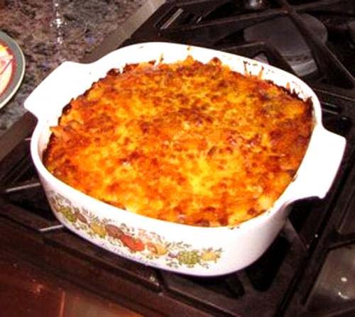 Cheeseburger Casserole picture