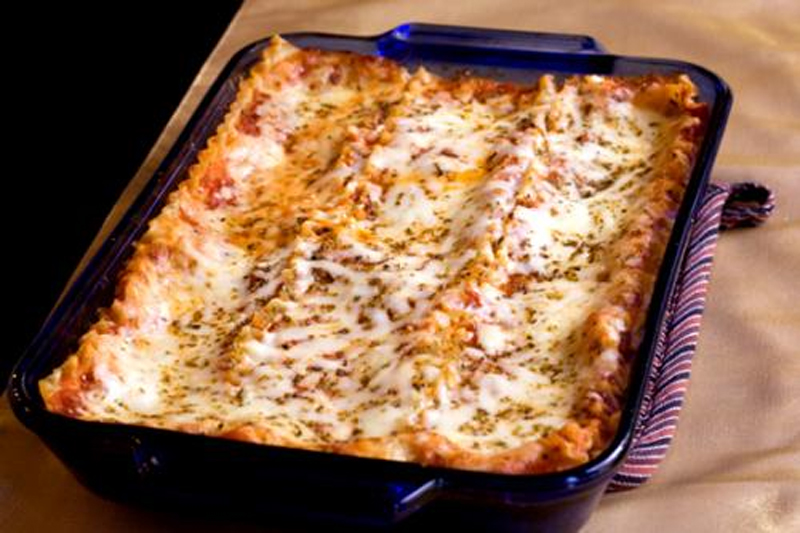 Cheesy Vegetable Lasagna picture
