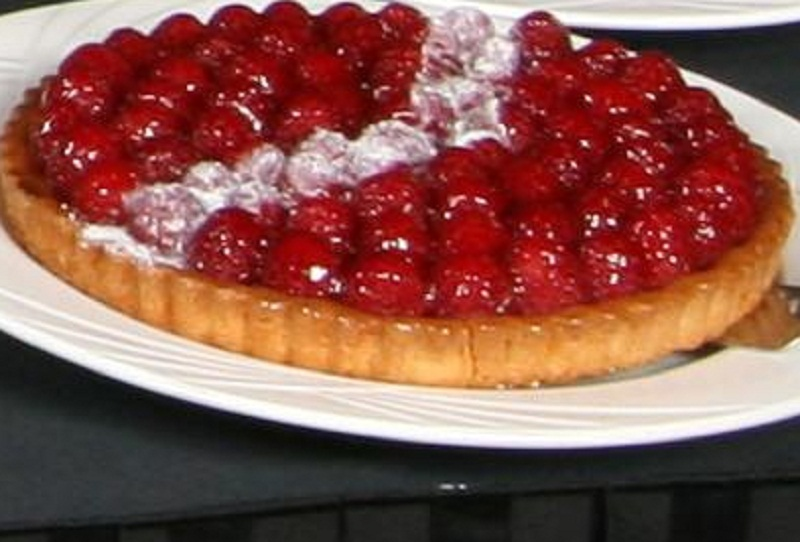 Cherry Cheese Pie picture