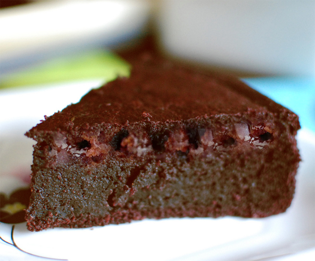 Cherry Chocolate Cake picture