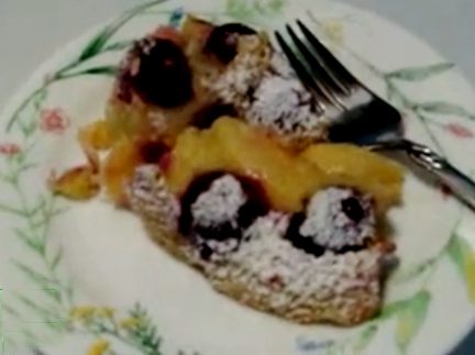 Fruit clafouti recipes