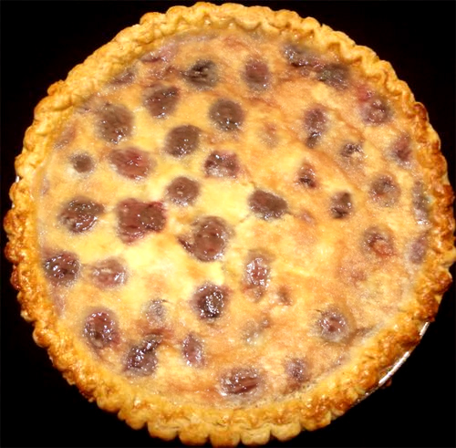 Cherry Custard Pie picture