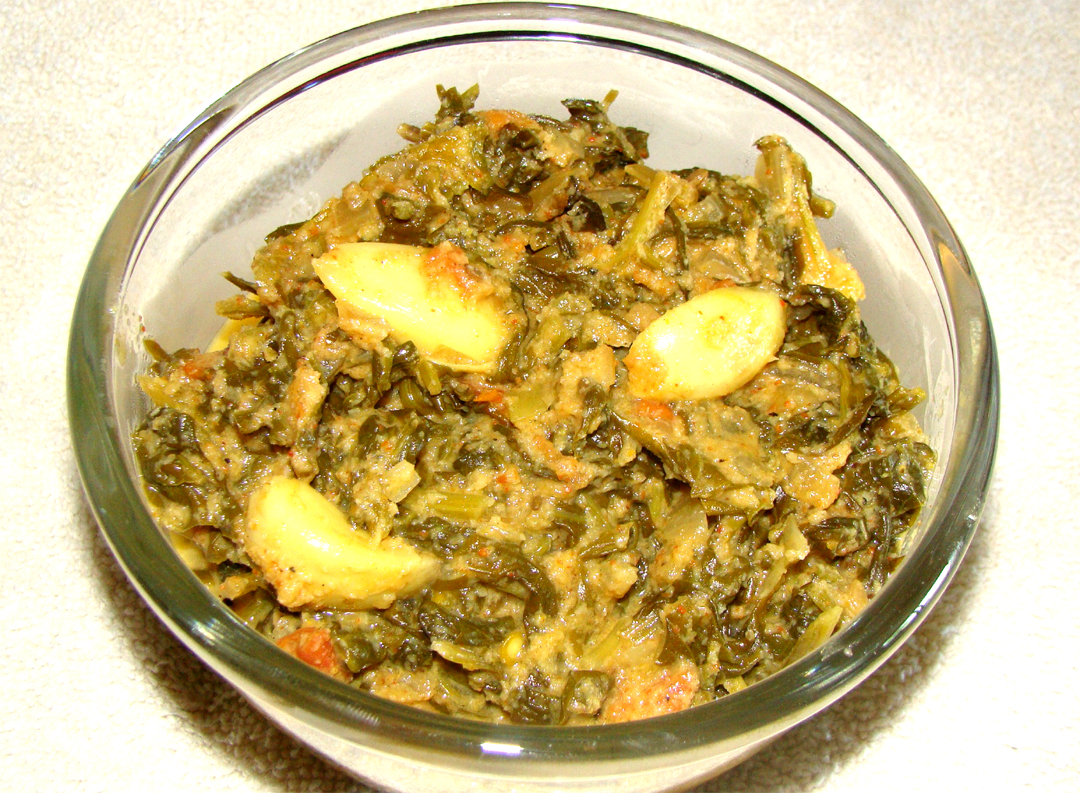 Chettinad Spinach Curry picture