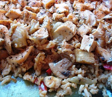 Chicken Rice Casserole with Mushroom picture