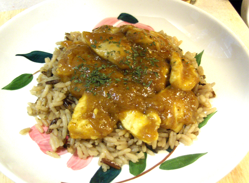 Chicken And Curry Rice picture