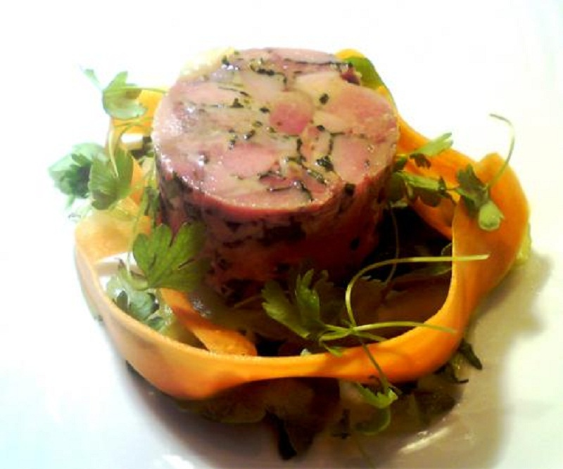 Chicken And Liver Terrine picture