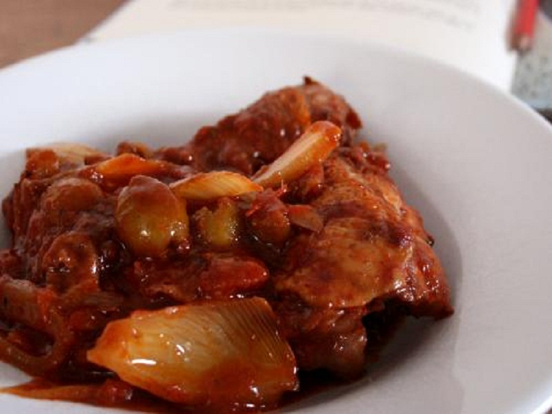 Chicken and Sausage Casserole picture