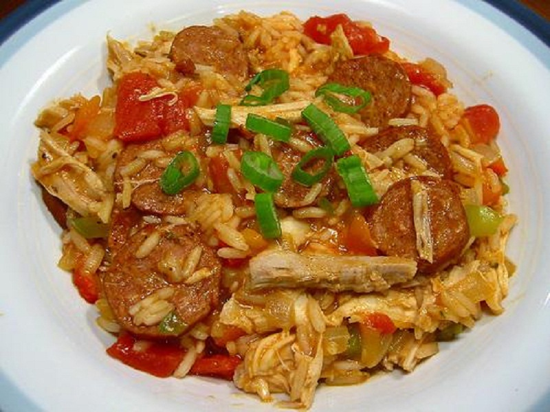 Chicken and Sausage Jambalaya picture