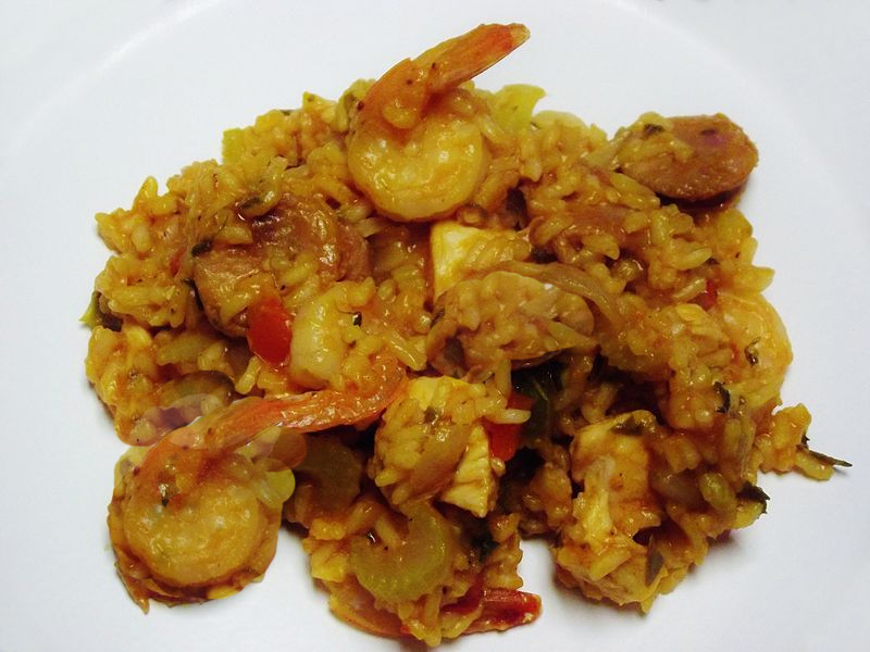 Chicken and Shrimp Jambalaya picture