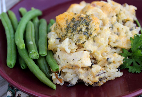 Curried Chicken & Wild Rice Bake picture