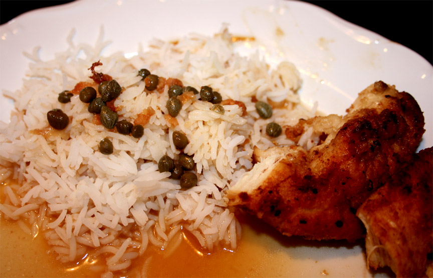 Chicken Breasts In Caper Sauce picture