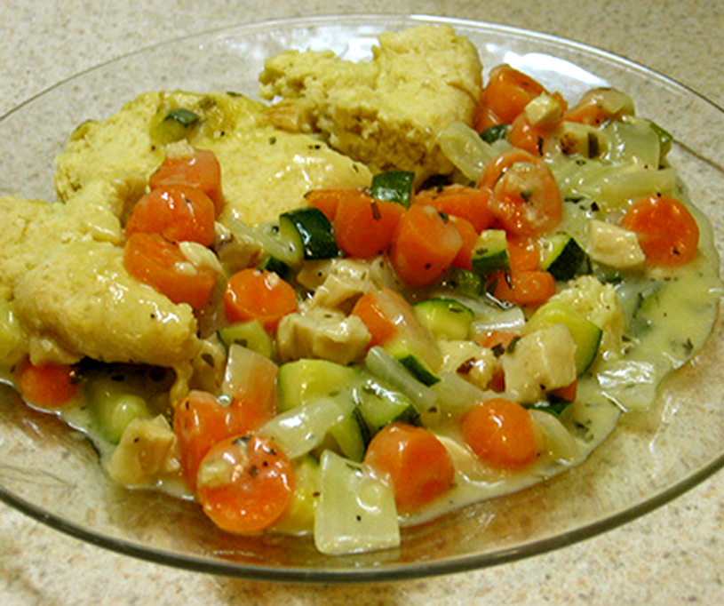 Chicken Breasts In Vegetable Creme picture