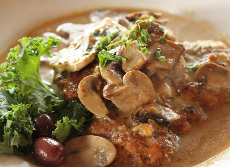 Chicken Breasts With Mushrooms picture