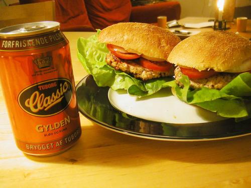 Chick Pea Burger picture