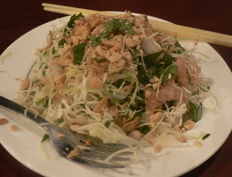 Tossed Japanese-Style Chicken Salad picture