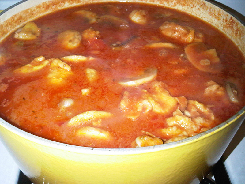 Easy Chicken Cacciatore picture