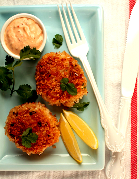 Gold Kist Farms Chicken Cakes With Chipotle Mayonnaise picture