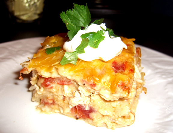 Chicken Custard Casserole picture