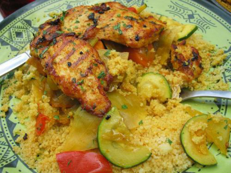 Chicken Couscous picture