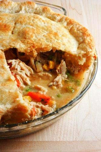 Chicken Dinner Pie picture