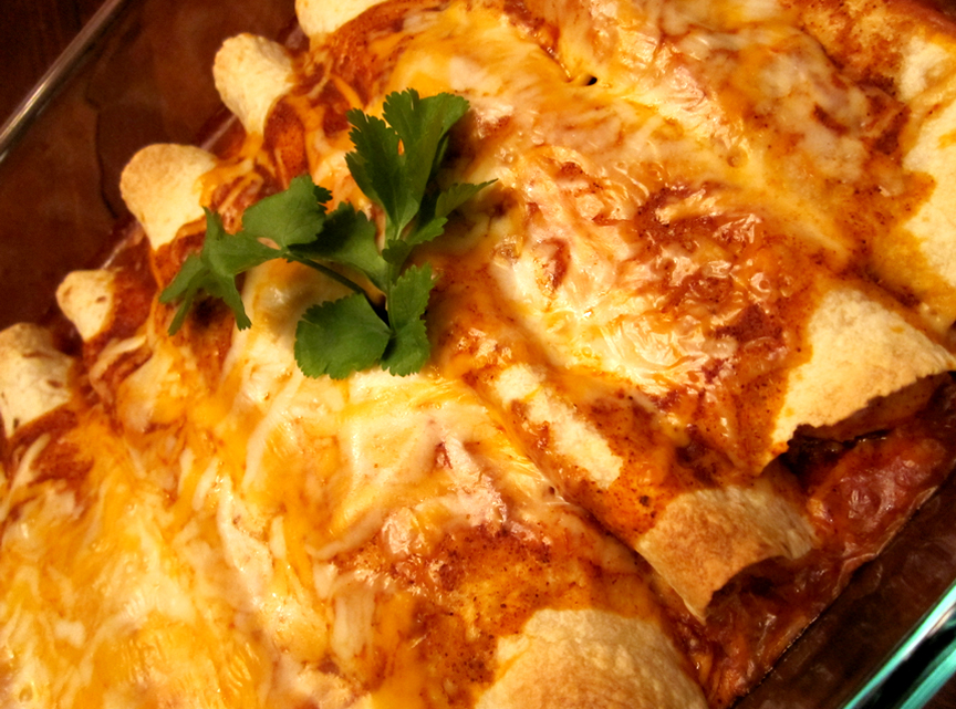Chicken Or Turkey Enchilada picture