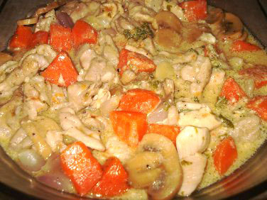 Hungarian Chicken Fricassee picture