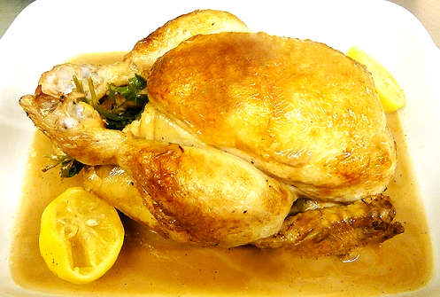 Chicken in Riesling picture