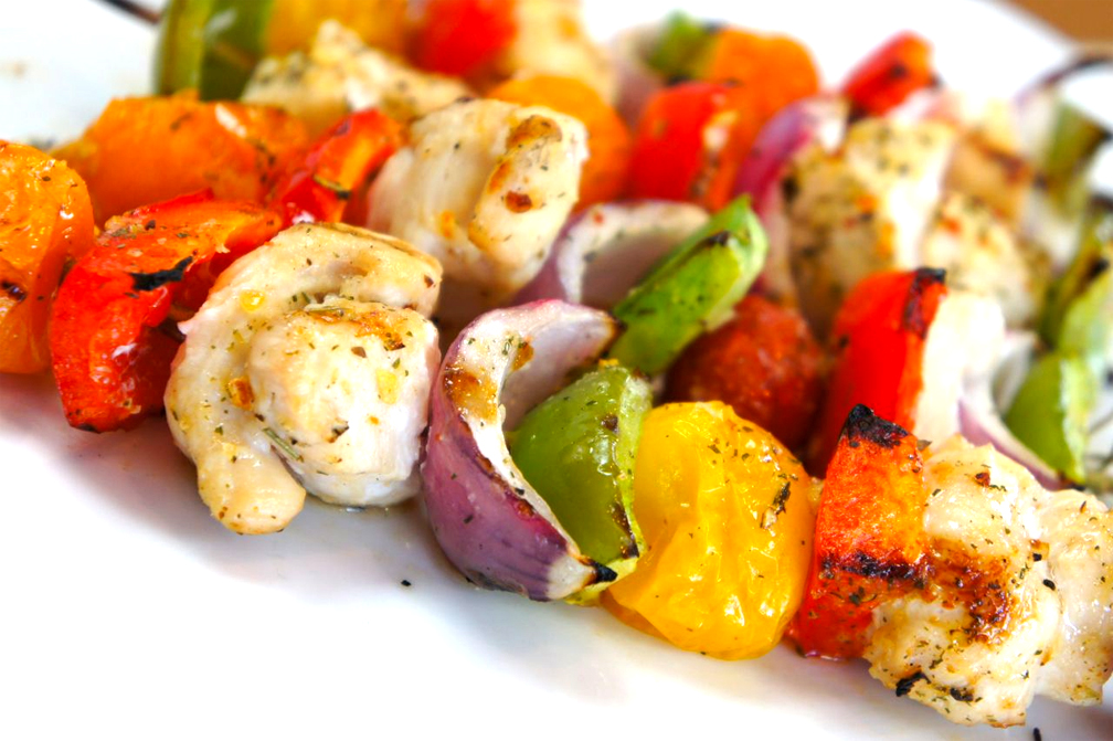 Rosemary Chicken Kabobs picture