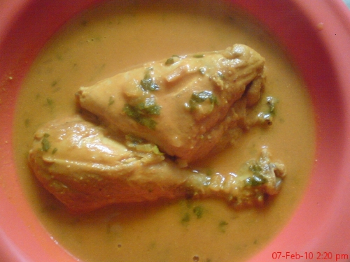 Chicken Korma picture