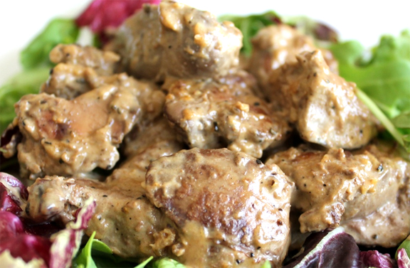 Chicken Livers with Marsala picture