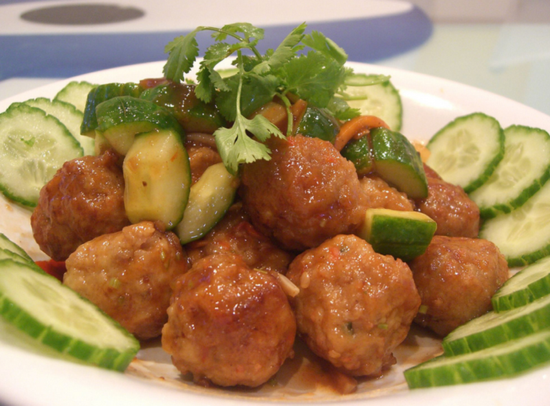 Chicken Meat Balls picture