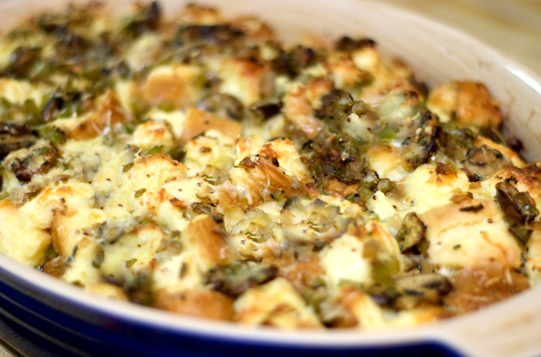 Chicken or Turkey Strata picture