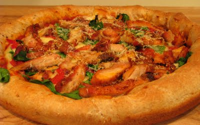 Grilled Chicken Pizza Mexican picture