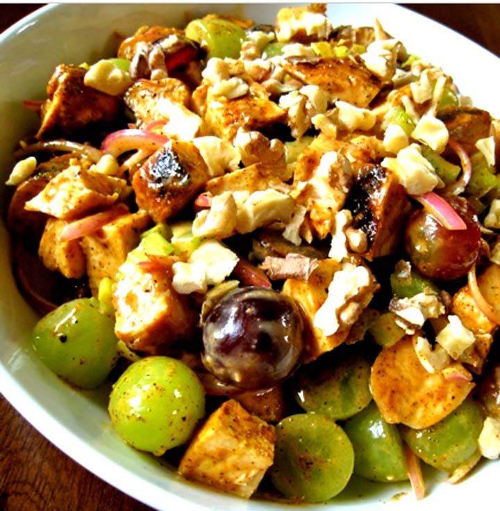 Fruited Chicken Salad With Raspberry Vinaigrette picture