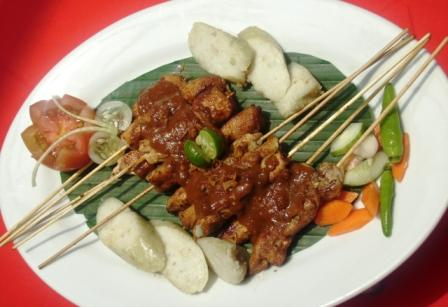 Beef or Chicken Satay picture