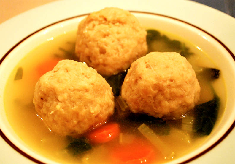 Chicken Soup With Meat Balls picture