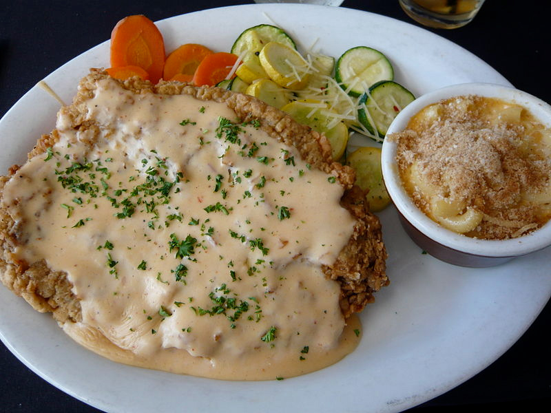 Southern Fried Chicken with Cream Gravy picture