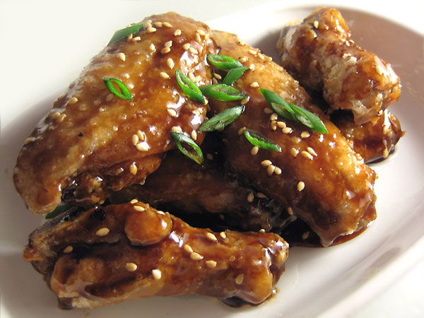 Deep Fried Chicken Wings with Ginger Lemon Sauce picture