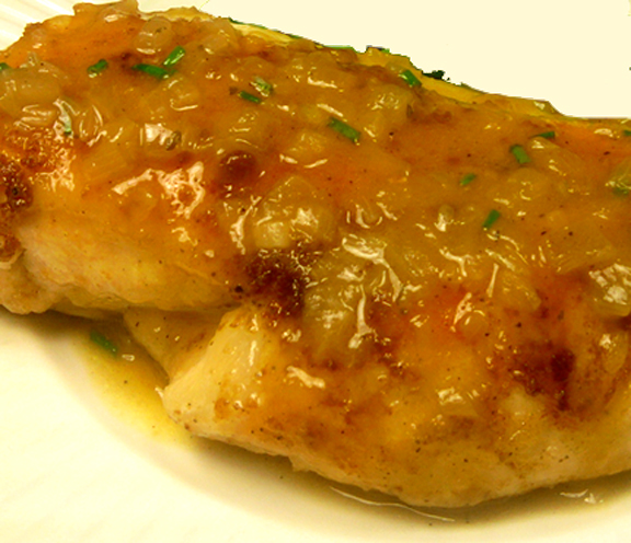 Chicken With Lemon Mustard Sauce picture