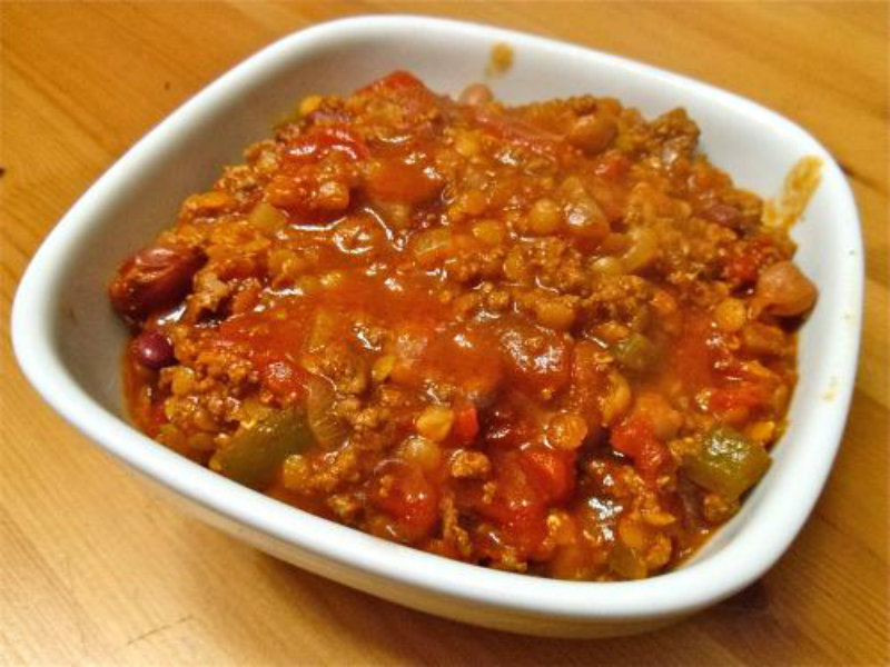 Sweet Pepper Chili Con Carne picture