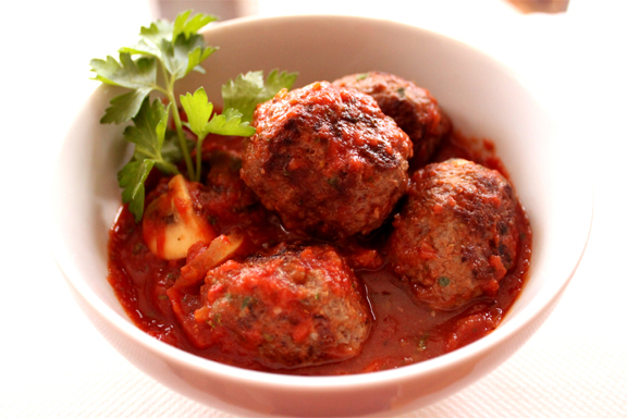 Chili Meatballs picture