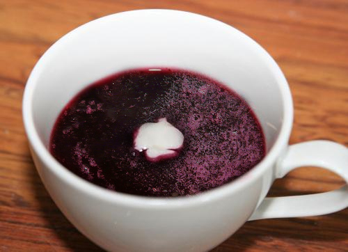 Chilled Blueberry Soup picture